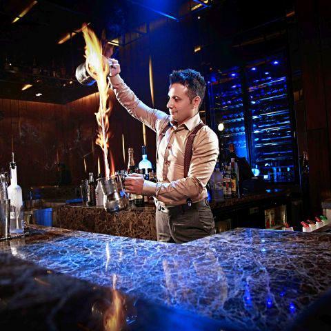 Cocktails werfen