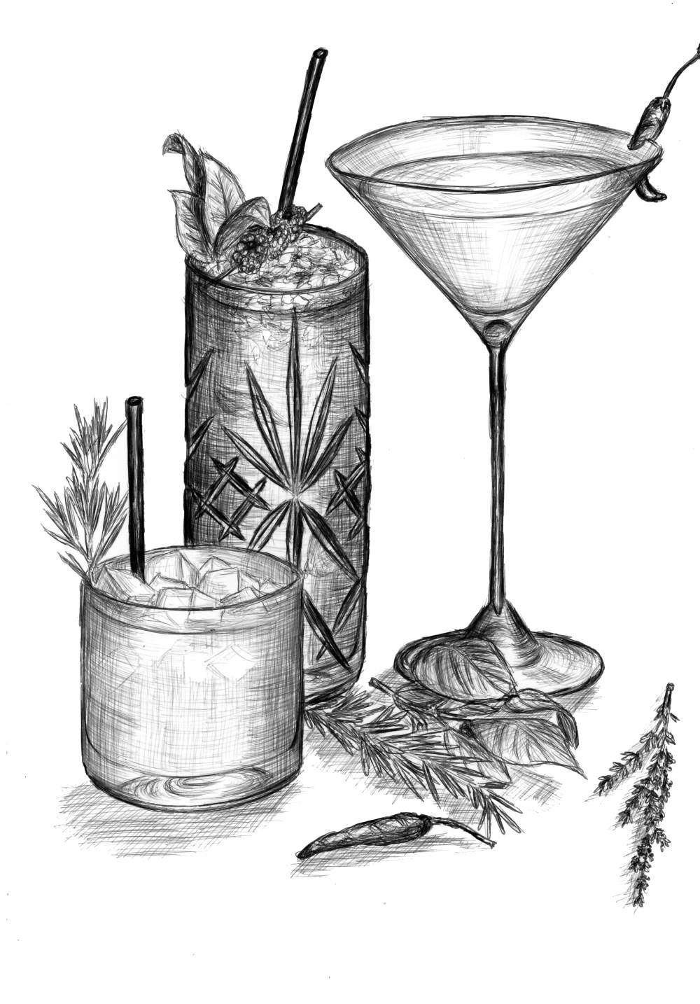 Cuisinestyle Cocktails
