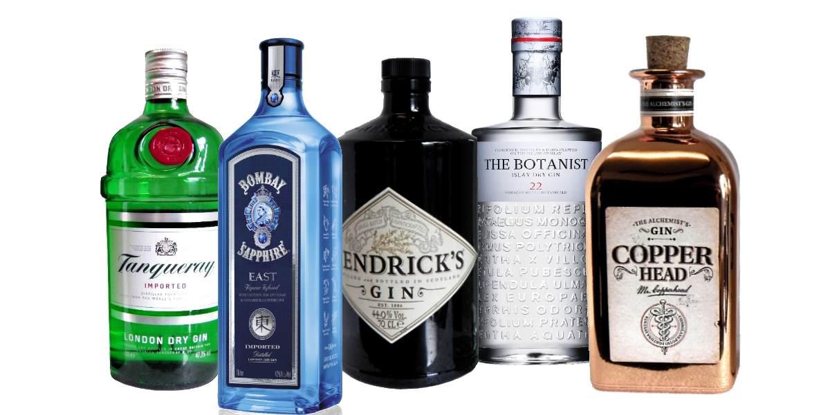Alles für deinen Gin-Bestand