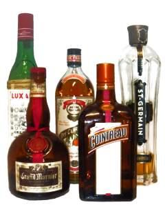 Liköre für Cocktails