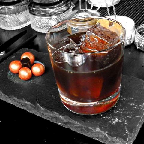 Scandic Plum Cocktail