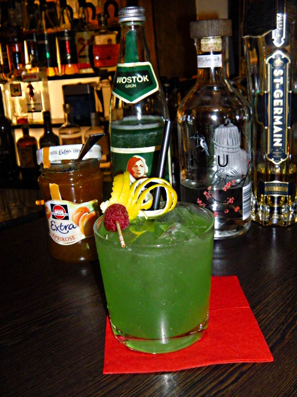Curtain Up Cocktail